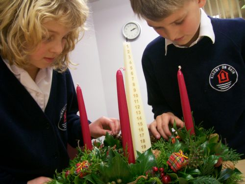 image - Advent wreath (dec 11)