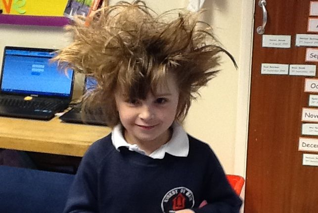 image - Wacky hair (March 14)