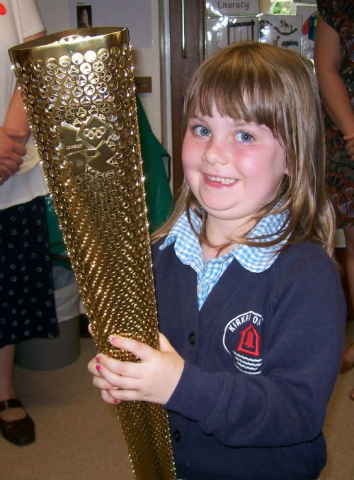 image - Olympic torch (June 12)