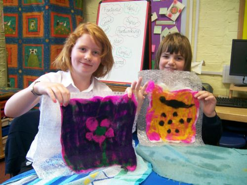 image - felt making